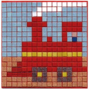 Train Mosaic Fun Kit