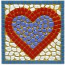 Heart Mosaic Fun Kit