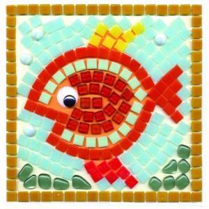 Fish Mosaic Fun Kit