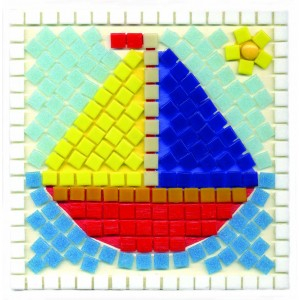 Boat Mosaic Fun Kit