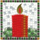 Christmas Candle Mosaic Fun Kit