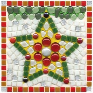 Christmas Star Mosaic Fun Kit