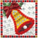 Christmas Bell Mosaic Fun Kit