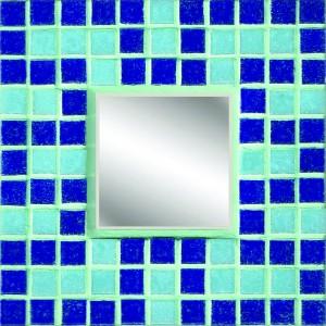 Blue Key Mosaic Mirror Kit