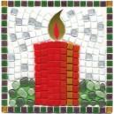 Christmas Candle Mosaic Fun Kit