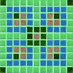 Mint Blue Mosaic Coaster Kit